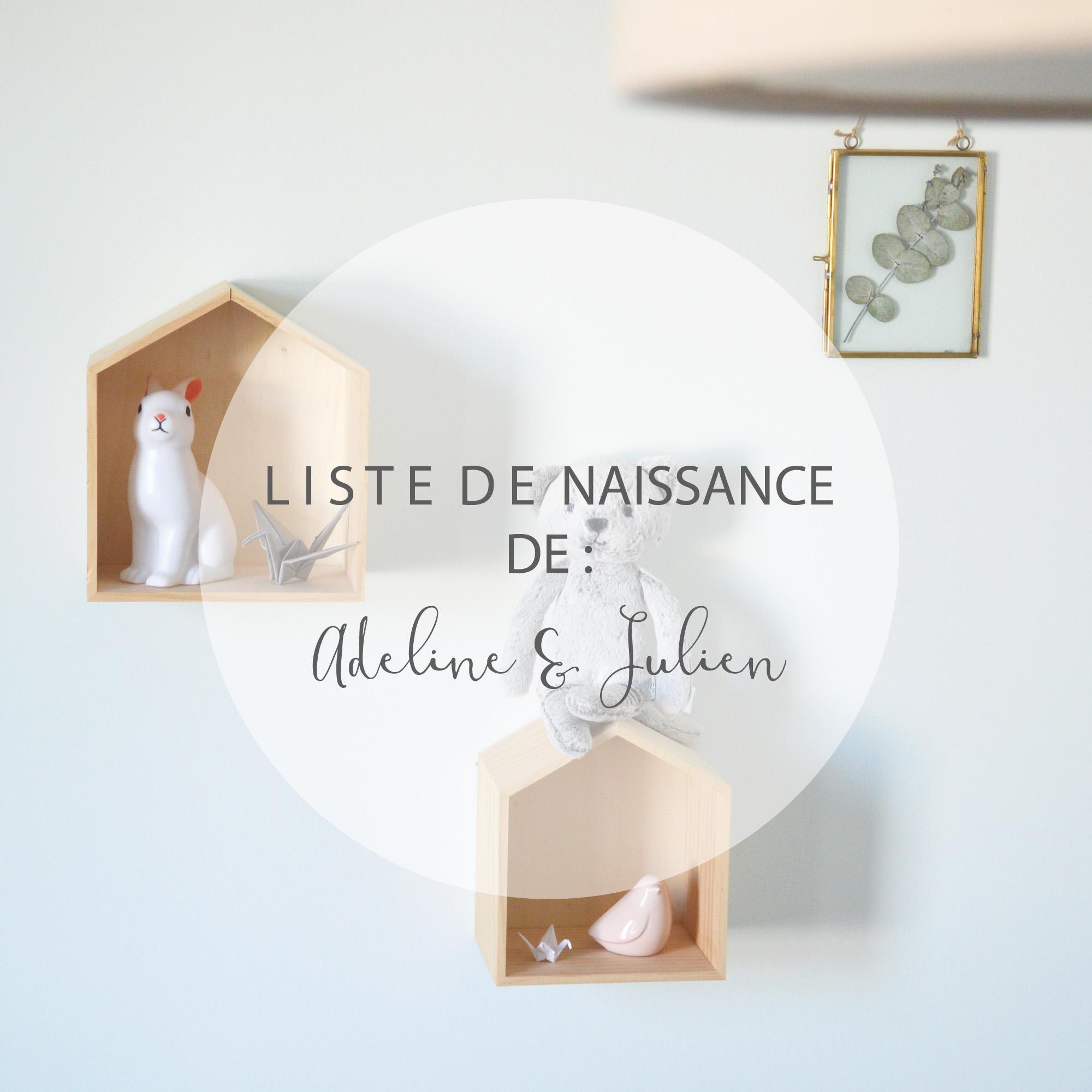 Au reve eveillé – Liste de naissance Adeline et Julien