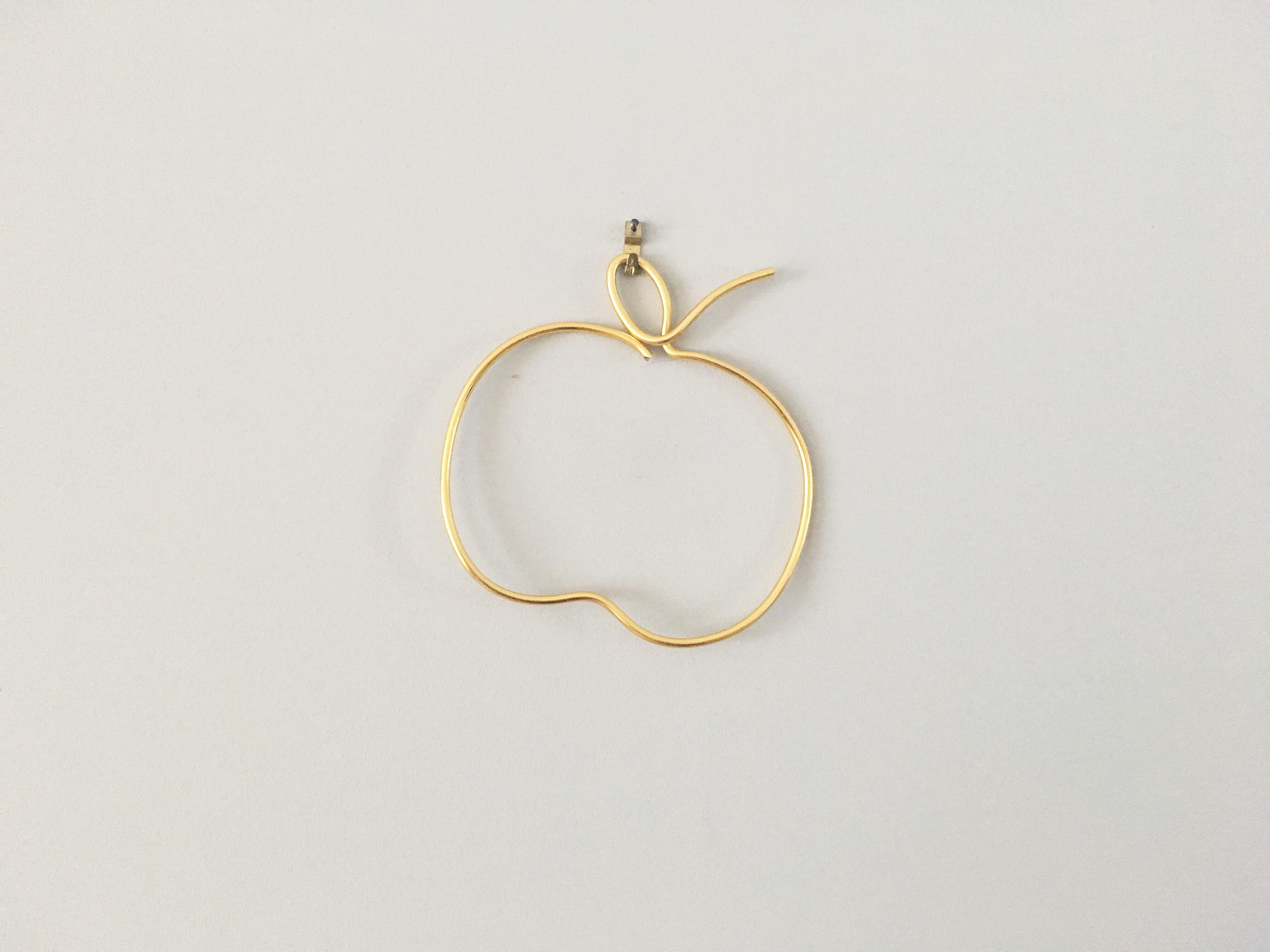 Au reve eveille – pomme filaire dore – creations decoratives
